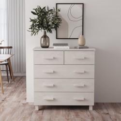 vidaXL Puertas de ducha ESG esmerilado 85x185 cm