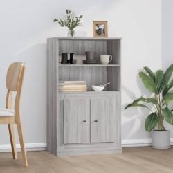 vidaXL Cenador con cortina gris taupe aluminio 4x3 m
