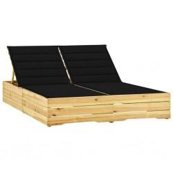 vidaXL Parque de perros plegable y bolsa transporte negro 125x125x61cm