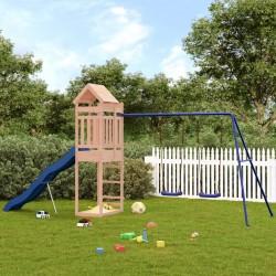 vidaXL Parque de perros plegable y bolsa transporte azul 125x125x61cm