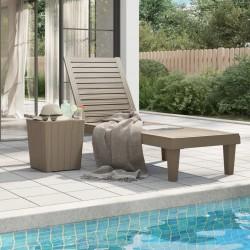 vidaXL Muebles de jardín de palets 2 piezas cojines madera maciza pino