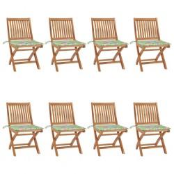 vidaXL Puerta de jardín de acero galvanizado plateado 105x175 cm