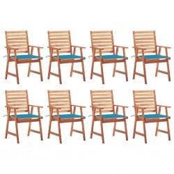 vidaXL Puerta de jardín de acero galvanizado plateado 306x175 cm