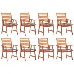 vidaXL Puerta de jardín de acero galvanizado plateado 306x200 cm