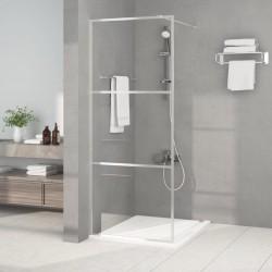 vidaXL Plato de ducha SMC blanco 90x90 cm