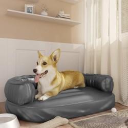vidaXL Plato de ducha SMC negro 80x80 cm