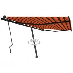 vidaXL Ventilador nebulizador de pie y mando a distancia blanco negro