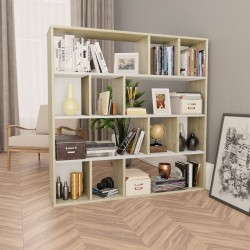 vidaXL Armario con espejo de baño aglomerado blanco 62,5x20,5x64 cm