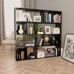 vidaXL Armario con espejo de baño aglomerado Sonoma 62,5x20,5x64 cm