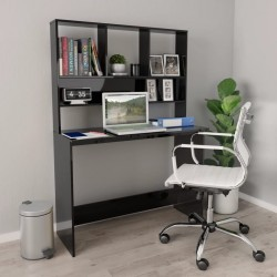 vidaXL Espejo de baño aglomerado gris 60x1,5x37 cm