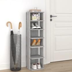 vidaXL Mesitas de noche 2 uds madera de pino gris oscuro 35x30x47 cm