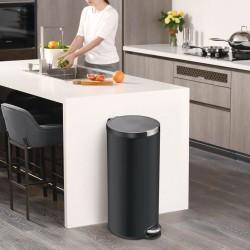 vidaXL Mesitas de noche 2 uds madera de pino marrón miel 35x30x40 cm