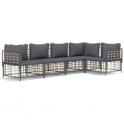 vidaXL Soporte de lavado de manos para camping con dispensador 35 L