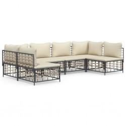 Nature Funda de muebles de jardín para mesa rectangular 170x130x70 cm