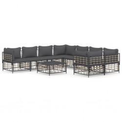 vidaXL Espejo de baño aglomerado negro 60x10,5x45 cm