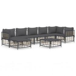 vidaXL Espejo de baño aglomerado blanco y roble Sonoma 60x10,5x45 cm