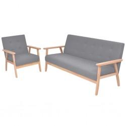 vidaXL Lona 650 g/m² 6x8 m azul