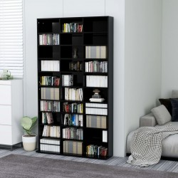 vidaXL Espejo de baño aglomerado gris brillante 90x10,5x45 cm