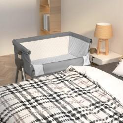 vidaXL Toldo para balcón HDPE 120x500 cm gris antracita