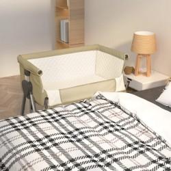 vidaXL Toldo para balcón HDPE 75x300 cm gris antracita y blanco