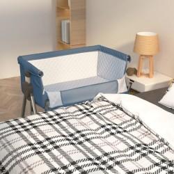 vidaXL Toldo para balcón HDPE 75x500 cm gris antracita y blanco