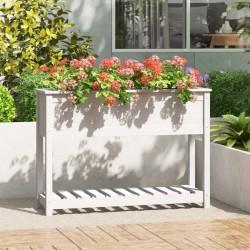 vidaXL Estantería de 3 niveles madera maciza de roble 40x30x87 cm
