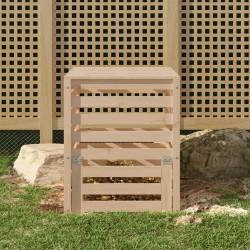 vidaXL Toldo para balcón tela oxford verde oscuro 75x400 cm