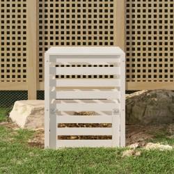 vidaXL Toldo para balcón tela oxford verde oscuro 75x500 cm