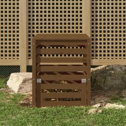 vidaXL Toldo para balcón tela oxford verde oscuro 90x300 cm