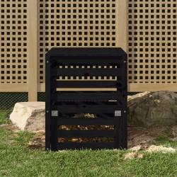 vidaXL Toldo para balcón tela oxford verde oscuro 90x400 cm