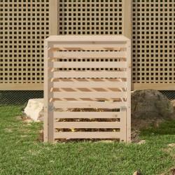 vidaXL Toldo para balcón tela oxford verde oscuro 90x500 cm