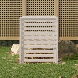 vidaXL Toldo para balcón tela oxford verde oscuro 90x600 cm