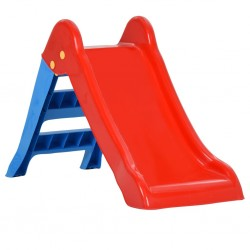 vidaXL Toldo para balcón tela oxford rojo 90x600 cm