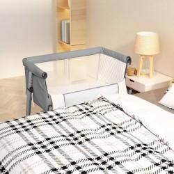 vidaXL Toldo para balcón tela oxford rojo 120x300 cm