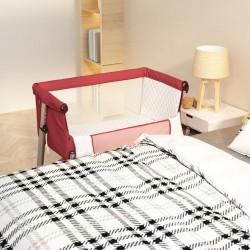 vidaXL Toldo para balcón tela oxford naranja 75x300 cm