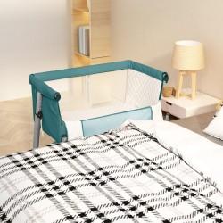 vidaXL Toldo para balcón tela oxford naranja 75x400 cm