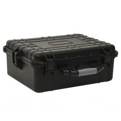 vidaXL Toldo para balcón tela oxford naranja 90x500 cm