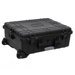 vidaXL Toldo para balcón tela oxford naranja 90x600 cm