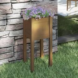 vidaXL Sillita de paseo para bebé negra acero