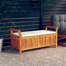 vidaXL Toldo para balcón tela oxford marrón 75x500 cm