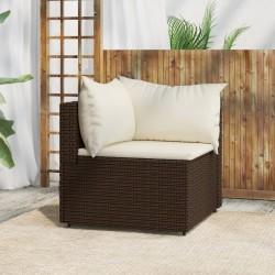 vidaXL Espejo de baño aglomerado color roble Sonoma 60x10,5x37 cm