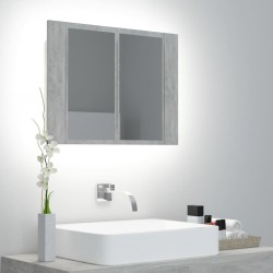 vidaXL Espejo de baño aglomerado negro 90x10,5x37 cm