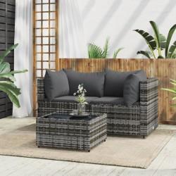 vidaXL Espejo de baño aglomerado gris 100x10,5x37 cm