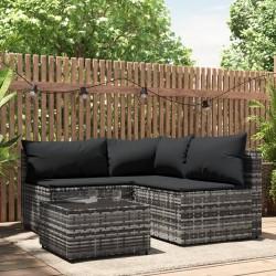 vidaXL Espejo de baño aglomerado blanco y roble Sonoma 100x10,5x37 cm
