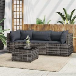 vidaXL Espejo de baño aglomerado negro brillante 100x10,5x37 cm