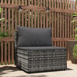 vidaXL Set de inodoro 10+10L y lavabo portátil de camping 20L gris