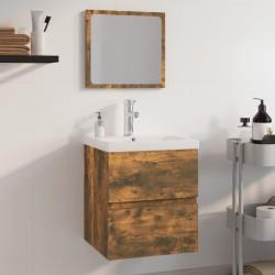 vidaXL Cantoneras escalera forma de F 15 uds aluminio plateado 100 cm