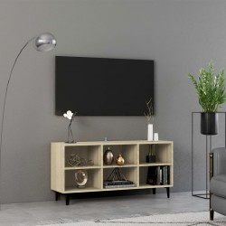 vidaXL Lámina de piedra gris 250x40 cm