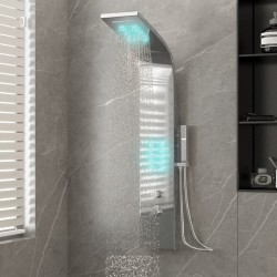 vidaXL Puerta de valla de acero gris antracita 100x124 cm