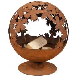 vidaXL Puerta de valla de acero gris antracita 100x204 cm